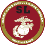 Logo for Marine Corps School Liaison Program, MCAS Miramar